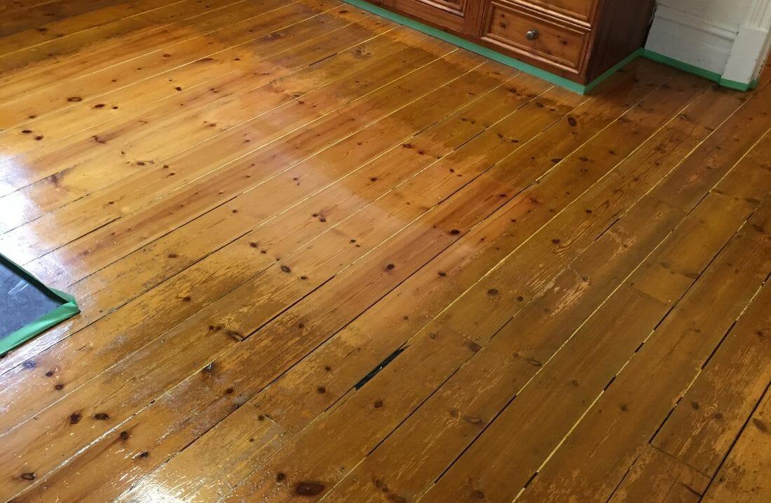 affordable floor sanding after image